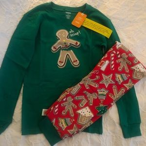 Gymboree Christmas Pajamas NWT 14